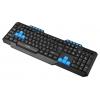 Клавиатура Oklick 750G USB, черно-синяя, купить за 490руб.