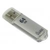 Usb-флешка SmartBuy V-Cut USB 3.0 64GB, серебристая, купить за 1 455руб.