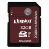 Карта памяти Kingston SDA3/32GB (UHS-I High Speed Class 3), купить за 1 635 руб.