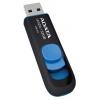 32 GB, ADATA DashDrive UV128, USB3.0, чёрно-синяя, купить за 1 030руб.