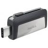 Usb-флешка SanDisk Ultra Dual Drive USB 64GB, серая, купить за 1 935руб.