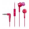 Гарнитура для телефона Panasonic RP-TCM105E-P, розовая, купить за 835руб.