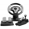 игровое устройство Dialog GW-300 Race Winner 1 USB (Рулевое колесо,педали,рычаг перекл.скор+ручн.тормоз)