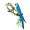 Товар Попугай Hansa Ара Желто-голубой 72 см, купить за 2 325руб.