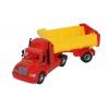 Товар для детей Wader Автомобиль-самосвал Майк с полуприцепом, красный / желтый, купить за 1 340руб.