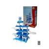 Набор игровой Wader Паркинг Aral-2 4-уровневый, белый / голубой, купить за 1 630руб.