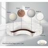 Матрас для детской кроватки BabySleep Nido Magia Latex Lana 75*75 круглый, купить за 3 265руб.