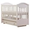 Детскую кроватку Кубаньлесстрой Камелия АБ 23.3, белая, купить за 13 430руб.
