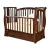 Детскую кроватку Красная Звезда Ярослава С551 Бабочка, шоколадная, купить за 21 040руб.
