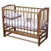 Детскую кроватку Красная Звезда Кристина С614, красно-коричневая, купить за 4510руб.