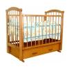 Детскую кроватку Красная Звезда Ирина С625, красно-коричневая, купить за 11 210руб.