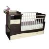 Детская кроватка Островок Уюта Чунга-Чанга, венге-ваниль, купить за 8 530руб.