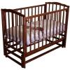 Детскую кроватку Красная Звезда Кристина C619, шоколад, купить за 7490руб.