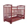Детская кроватка Агат Золушка-6, вишня, купить за 5 225руб.