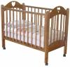 Детскую кроватку Красная Звезда С-635 Любаша, красно-коричневая, купить за 6600руб.