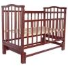 Детская кроватка Агат Золушка-3, шоколад, купить за 3 940руб.