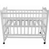 Детская кроватка Briciola 1 (качалка), белая, купить за 4 079руб.