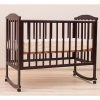 Детская кроватка Кубаньлесстрой Лютик АБ 15.0 ( без ящика), махагон, купить за 6 659руб.
