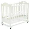Детскую кроватку Ведрусс Лана-2 ( качалка), белая, купить за 5020руб.