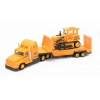 Товар для детей Soma строительная техника перевозчик + бульдозер, купить за 850руб.