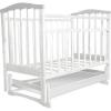 Детская кроватка Агат Золушка-4, белая, купить за 4 145руб.