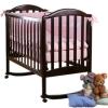 Детская кроватка Кубаньлесстрой Лилия Люкс АБ 17.0, венге, купить за 9 160руб.