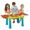 Набор игровой Столик для игры с водой и песком Keter Creative Бирюзово-красный, купить за 3 200руб.