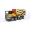 Товар для детей Bruder Бетономешалка Scania  жёлто-синяя, купить за 3 690руб.