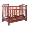 Детская кроватка Агат Золушка-4, вишня, купить за 4 340руб.