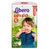 Подгузник Libero Up&Go 5 (10-14 кг) 48 шт., купить за 1 210руб.
