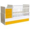Детская кроватка Фея 1100 Бело-солнечная, купить за 8 655руб.