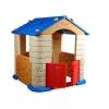 Товар для детей Игровой Домик Edu-play Grand Бежевый/синий/красный, купить за 9 760руб.