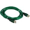 Aopen ACU202-3MTG (USB2.0 AM/AF 3m прозрачная изоляция), купить за 500руб.
