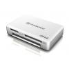 Устройство для чтения карт памяти Картридер Transcend RDF8, all-in-1, USB 3.0, Белый, купить за 1 135руб.