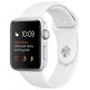 Умные часы Apple Watch Series 2 42mm Silver Aluminium Case, белые, купить за 26 980руб.