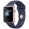 Умные часы Apple Watch Series 1 42 mm, розовое золото/синие, купить за 25 945руб.