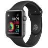 Умные часы Apple Watch Series 1 42 mm, серо-черные, купить за 20 800руб.