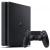 Игровая приставка Sony PlayStation 4 Slim 1Tb (CUH-2008B) + контроллер Dualshock 4, черная, купить за 28 360руб.