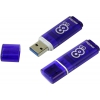 Usb-флешка SmartBuy Glossy 8GB, темно-синяя, купить за 530руб.
