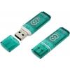 Usb-флешка SmartBuy Glossy 8GB, зеленая, купить за 495руб.