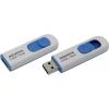 Usb-флешка AData C008 16Gb, бело-голубая, купить за 530руб.