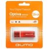 Qumo Optiva USB2.0 16Gb (RTL), красная, купить за 760руб.