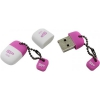 Usb-флешка Silicon Power Touch T07 USB2.0 8Gb (RTL), розовая, купить за 770руб.