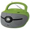 Магнитола BBK BX195U, зелено-серая, купить за 2 940руб.