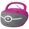 Магнитола BBK BX195U, розовая, купить за 2 055руб.