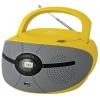 Магнитола BBK BX195U, желтая, купить за 2 170руб.