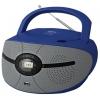 Магнитола BBK BX195U, голубая/серая, купить за 2 170руб.
