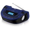 Магнитола BBK BS07BT, темно-синяя, купить за 2 170руб.