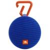 Портативная акустика JBL Clip 2, синяя, купить за 3 030руб.