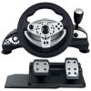 Руль и педали Dialog GW-14VR Cyber Pilot USB (Вибро, Рулевое колесо, педали,12кн.,4поз.перекл.,миниджойстик), купить за 3 780руб.